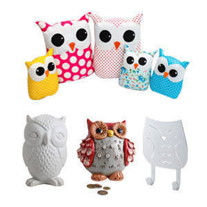 10 Picks from our Goodie Bag: Owl Design Collectibles