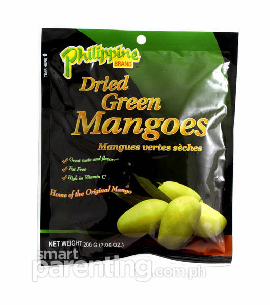 Philippine Brand Dried Green Mangoes