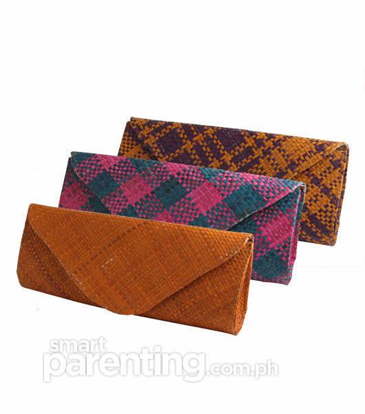"""Ticog """"Bayong"""" Clutch Bags"""