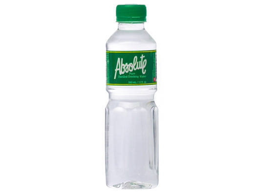 Absolute Distilled Drinking Water
