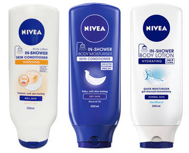 nivea in-shower skin conditioner