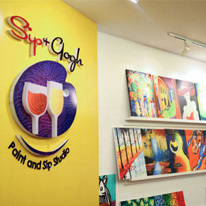 Around Town: Sip & Gogh in Capitol Hills, Quezon City