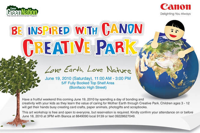 Canon Creative Park poster