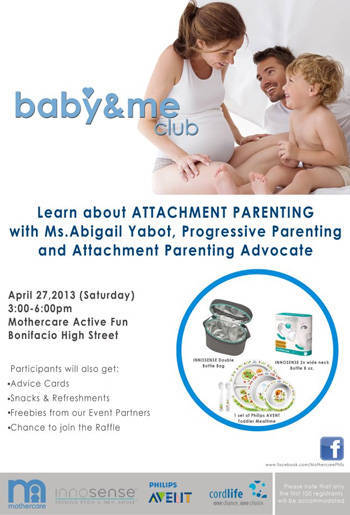 Baby & Me attachment parenting