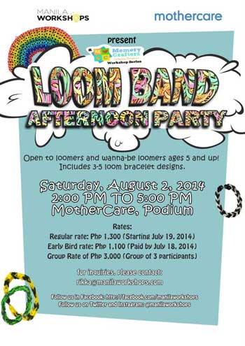 Loom Band Afternoon Party