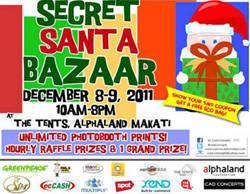 Secret Santa Bazaar