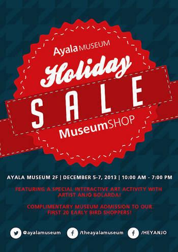 Ayala Museum Shop Holiday Sale