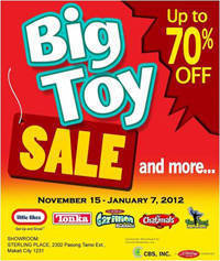big toy sale