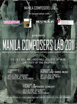 Manila Composers Lab 2011