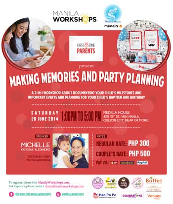 Making Memories and Planning Parties