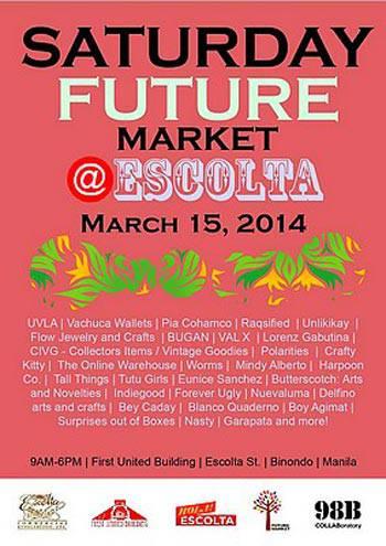 Saturday Future Market @Escolta