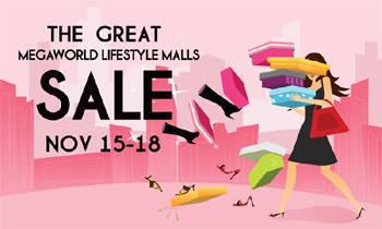 The Great Megaworld Lifestyle Malls Sale