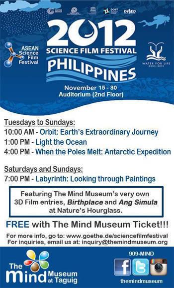 Mind Museum Science Film Festival