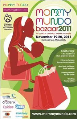 Mommy Mundo Bazaar 2011