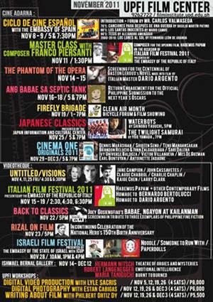 University of the Philippines Film Institute (UPFI)