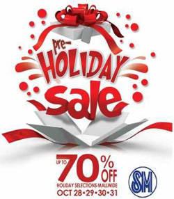 SM pre-holiday sale