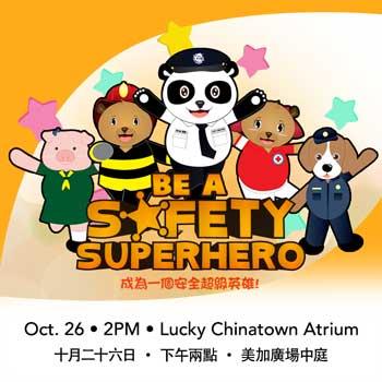 Be a Safety Superhero