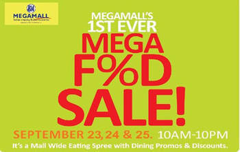 SM Megamall's 1st ever mega food sale