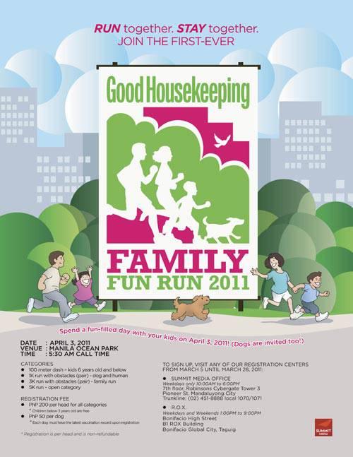 Good Housekeeping Family Fun Run