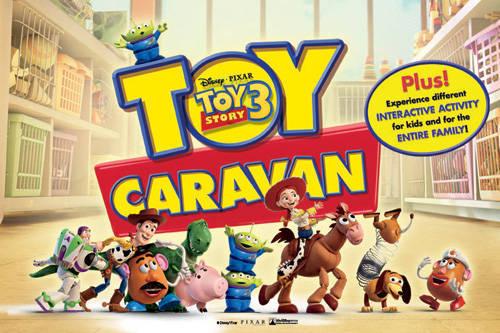 Toy Story 3 Toy Caravan
