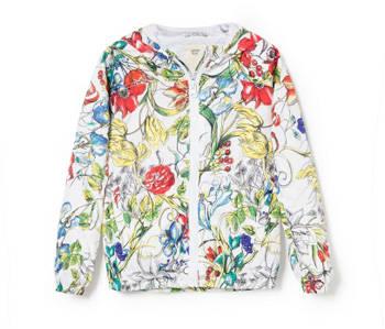 Mango floral jacket