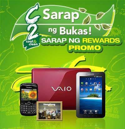 C2 sarap ng rewards