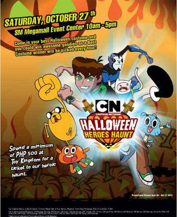 Cartoon network halloween