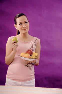pregnant fruits