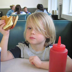 kid burger
