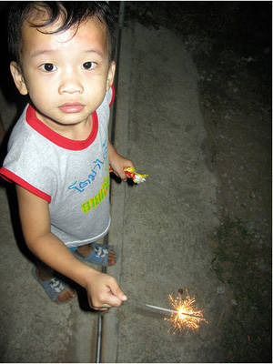child firecrackers