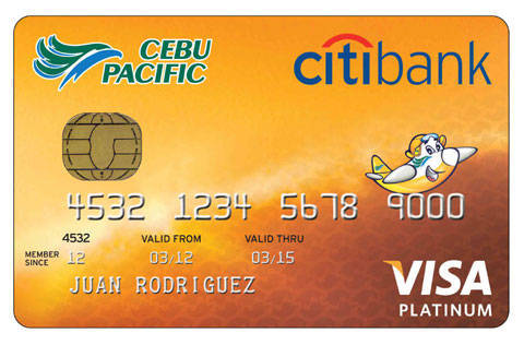 citibank cebu pacific