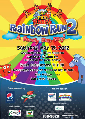 fun ranch rainbow run