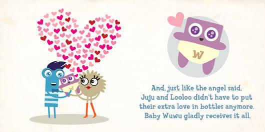 Juju Looloo and baby Wuwu
