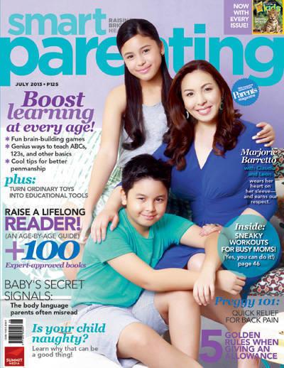 July 2013 cover Marjorie Barretto