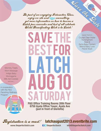 Save the best for latch