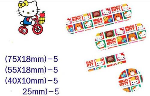 Hello Kitty adhesive bandages