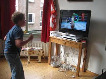 boy Nintendo WII
