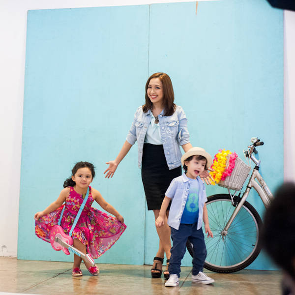 Behind the Scenes with Barbie Almalbis-Honasan, Stina and Liam