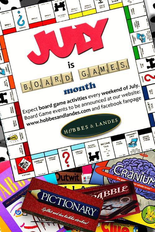 Hobbes & Landes board  games month