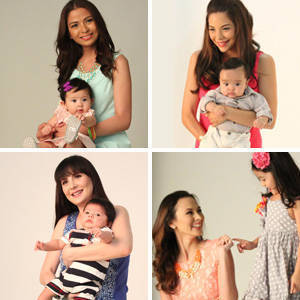 Smart Parenting's May Cover Shoot with Moms Chesca, Amanda, Christine, Rissa, Rhea, Ria, Bianca and Amina