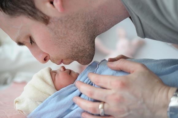dad baby