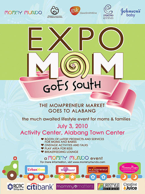 Expo Mom in Alabang Town Center