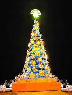 Firefly Christmas tree