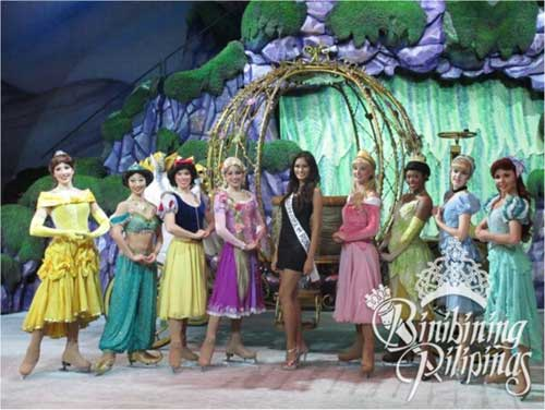 Janine Tugonon Disney On Ice