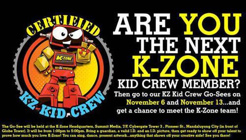K-Zone Kid Crew Member