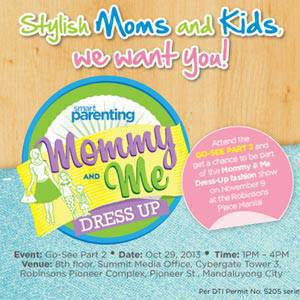 Smart Parenting's Mommy & Me Dress-Up: Part 2!