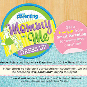 Smart Parenting's Mommy & Me Dress-Up Event at Robinsons Magnolia