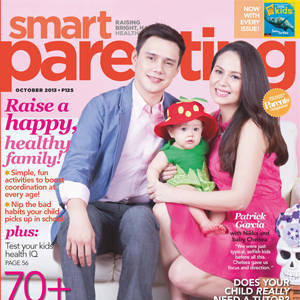 New Parents Patrick Garcia and Nikka Martinez Grace Smart Parenting's October Cover