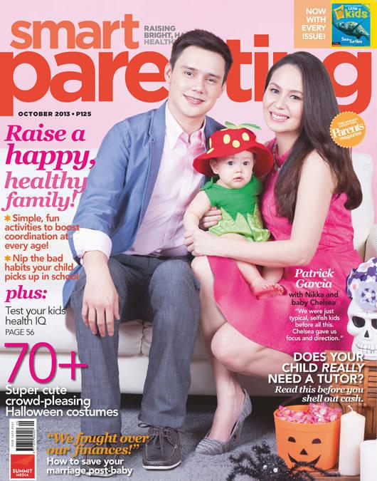 Patrick Garcia and Nikka Martinez Smart Parenting October 2013