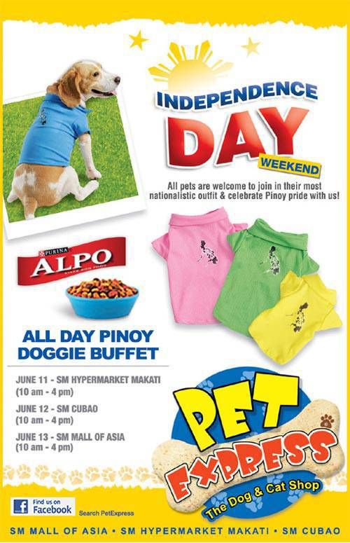 Pet Express independence day weekend